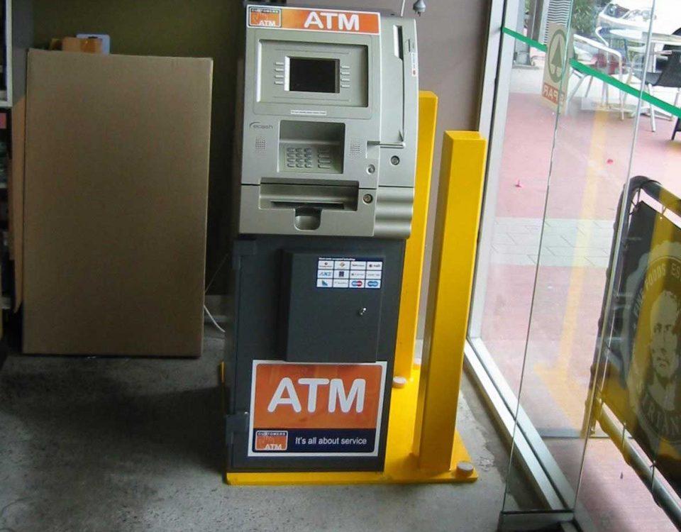 Anti Ram Raid ATM Bollard Security
