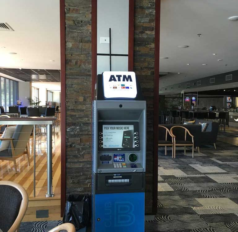 Lobby ATM at Cairns Airport