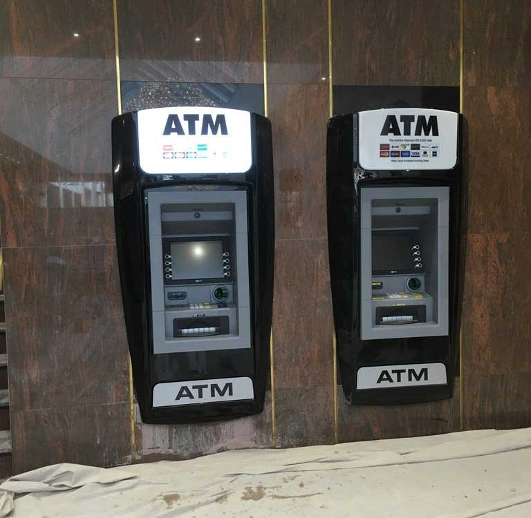 Double ATM installation at Canberra Casino